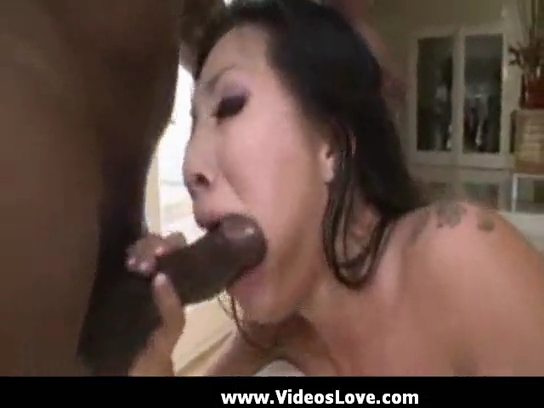 ASA AKIRA IN MY FIRST DP with ANACONDA COCK