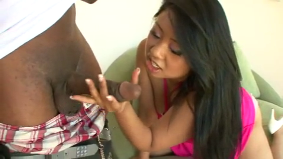ASIAN GIRL KYA TROPIC VS BLACK DICK