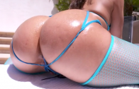 ABELLA DANGER HAS AN ASS PARTY WITH THE DP MASTER!